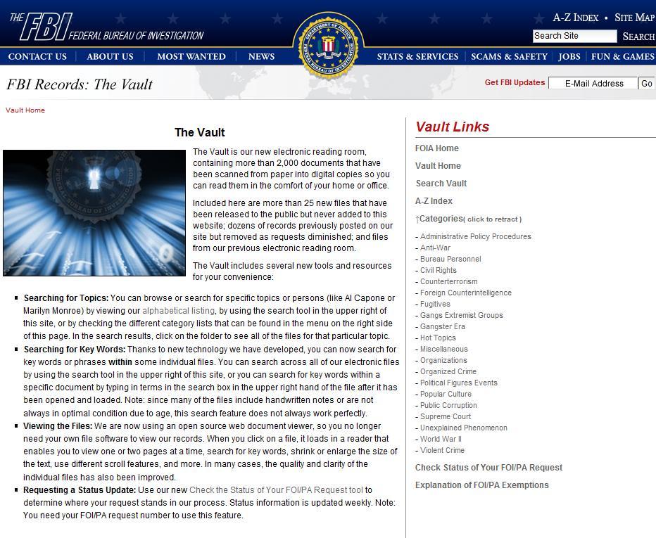 """F.B.I. Confirmó la recuperación de 3 OVNIs y 9 Extraterrestres """"Roswell"""" New2bpicture"""